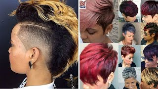 80 Best Short Curly Colored Hairstyles For African American Black Women | Amazing Short Haircuts