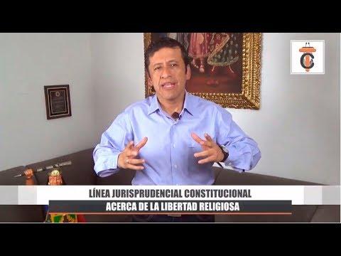Línea Jurisprudencial Constitucional sobre la Libertad Religiosa - Tribuna Constitucional 47