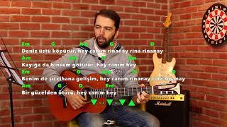 DENİZ ÜSTÜ KÖPÜRÜR Cover, Akor Ve Ritim (Rinna Nay)