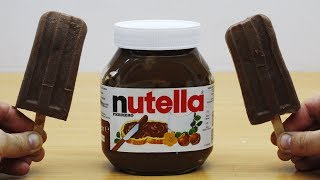DIY Real Nutella Milk IceCream
