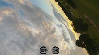 Learning FPV - Session 35 Sunset at the Park