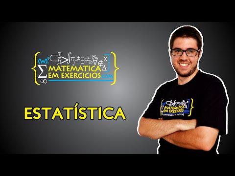 Estatística (Média, Mediana, Moda, Variância e Desvio Padrão) - Prof. Gui