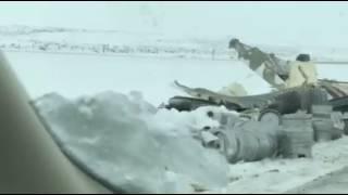 Casper's Mayor Drives Through Wrecks on I-80 -- Jan. 24, 2017
