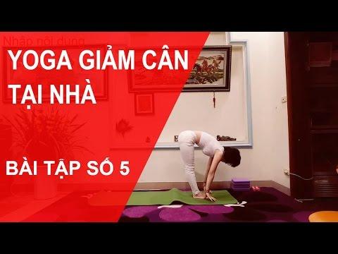 Yoga giảm cân tại nhà - Bài tập số 5 cùng chuyên gia Nguyễn Hiếu Yoga ( Yoga For Weight Loss )
