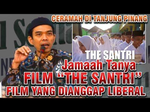 Jamaah Singgung Hukum Nonton Film THE SANTRI diMasjid Al Hikmah Tanjung Pinang