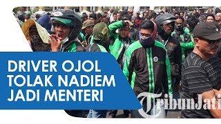 Pengemudi Ojek Online Ancam Nadiem Makarim jika Jadi Menteri di Kabinet Jokowi