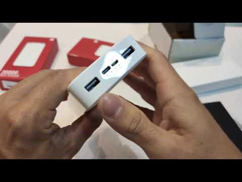 UNBOXING Power Bank Xiaomi REDMI 20.000mAh - Carregamento super rápido 18W QC3.0