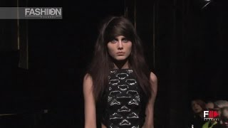 GOSIA BACZYNSKA Full Show Paris Fashion Week Fall 2015 by Fashion Channel