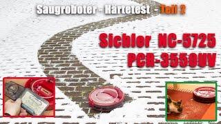 Teil2 Test Staubsaugerroboter Sichler NC 5725 PCR 3550UV