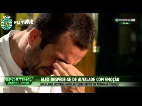 Despedida de Alex do Sporting