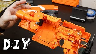 DIY Nerf blaster elite Stryfe custome