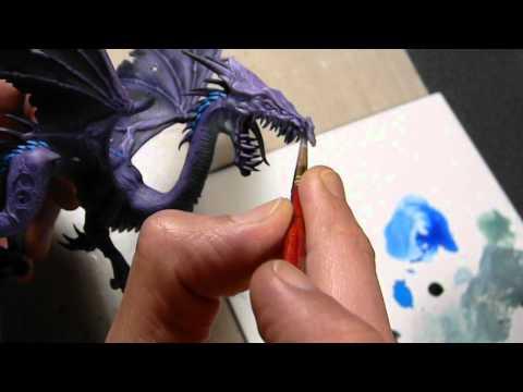 Warhammer Dark Elves Black Dragon Part 3
