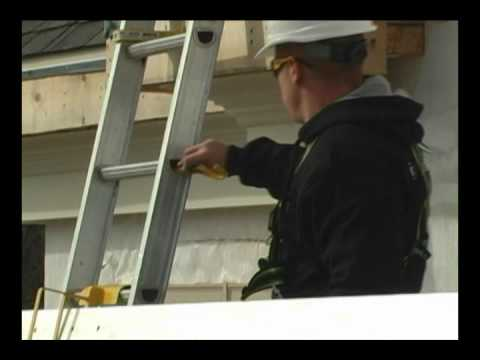 Protección contra caídas  - WorkSafe Soporte de seguridad para escaleras del sistema y accesorios