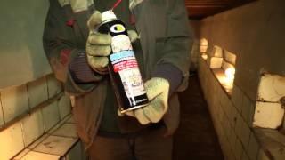 Антикоррозийное покрытие черное BOSNY 600мл, 450гр. от компании Мир Очистителей - видео