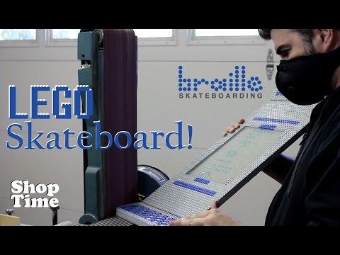 LEGO Skateboard For Braille Skateboarding