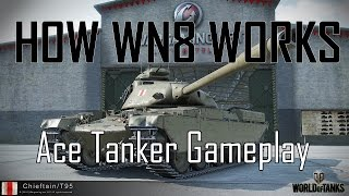 World of Tanks: How WN8 Works (16000+ WN8 Chieftain T95 and T37 Gameplay)