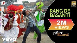 A.R. Rahman - Rang De Basanti Title Track Best Audio Song||Aamir Khan|Soha|Daler Mehndi
