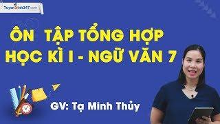 Ôn tập tổng hợp học kì I – Ngữ văn 7 – cô Tạ Minh Thủy