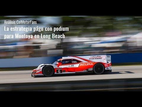Primer podium del año para Montoya en IMSA - Analisis ColMotorFans