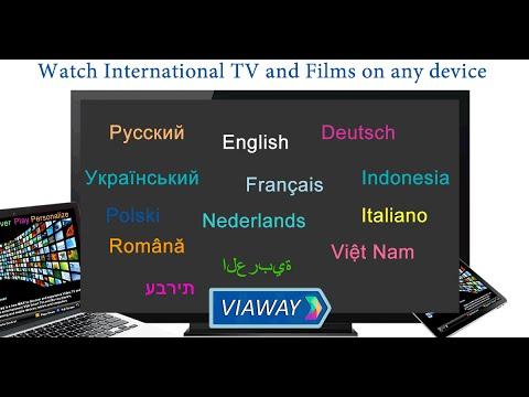 Video of Viaway: TV Films Video Radio
