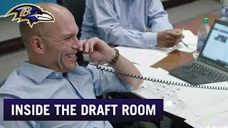Go Inside Draft Room For Marquise Brown Pick