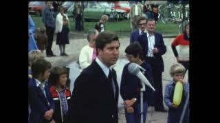 LTV Haaren, opening Haarens tennispark in 1976