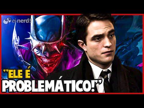 ROBERT PATTINSON CHAMA BATMAN DE PROBLEMÁTICO E INTERNET PEGA FOGO