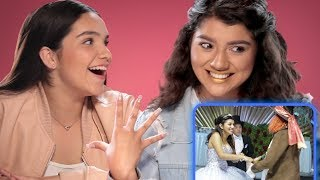 My Dream Quinceañera Reacts - Shany | AwesomenessTV Reacts w/ Airam & Shany
