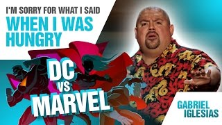 'DC vs Marvel' | Gabriel Iglesias - I'm Sorry For What I Said When I Was Hungry