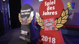 Spiel des Jahres Verleihung 2018 - Bericht über die Verleihung - Spiel doch mal...!