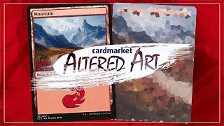 Altered Art: Mountain (Commander 2018)