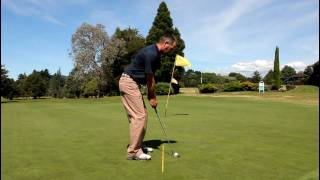 preview picture of video 'Putting Set Up 1 - Waihi Golf Club - Tips'