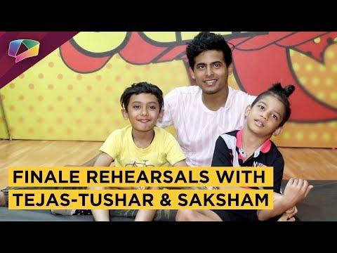 Tejas-Tushar And Saksham's Finale Rehearsals & Chat | Super Dancer 3