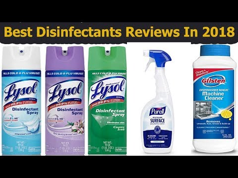 Best Disinfectants Reviews In 2018-Buying Guide Of Disinfectants