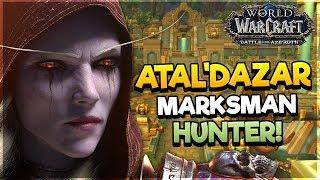 Atal'Dazar Dungeon as MARKSMAN HUNTER! - Battle for AZEROTH ALPHA*