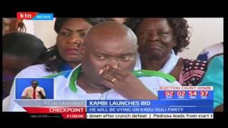 Former Labour CS Kazungu Kambi to vie for the Kilifi county gubernatorial seat on KADU Asili party