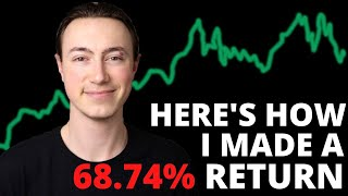 How I Made A 68.74% Stock Market Return During A Global Recession (2020)