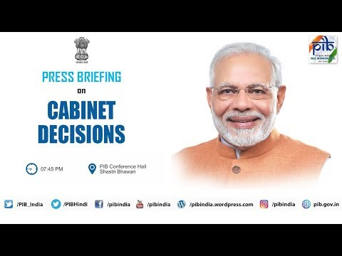 Cabinet Briefing by Union Ministers Nirmala Sitharaman