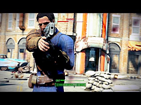 Fallout 4 Exploration & Combat Gameplay Direct Feed