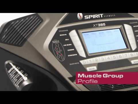 Video Demonstration of the Spirit XT385 Treadmill