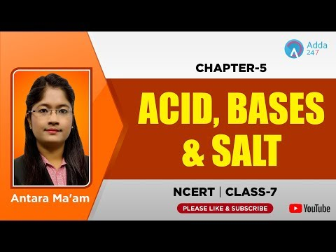 Happyclass - Acids, Bases and Salts, Science, CLASS 7 - NCERT CBSE