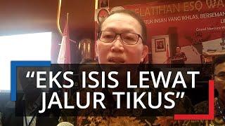 "WNI Eks ISIS Diyakini Pulang ke Indonesia Lewat Filipina, Achmad Djamaludin: ""Banyak Jalur di Sana"""