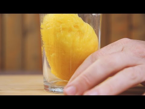 How To Perfectly Peel The Skin Of A Mango In Seconds