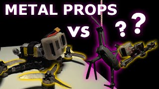 MAKING METAL PROPS / LETS CUT THINGS (FPV FREESTYLE)