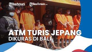 ATM Turis Asal Jepang Dikuras Pencuri saat Menarik Uang di Bali, 6 Pelaku Ditangkap Polisi
