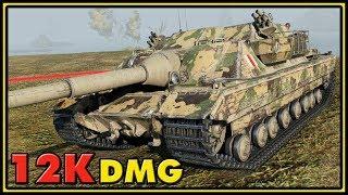 FV217 Badger - 12K Damage - 10 Kills - World of Tanks Gameplay