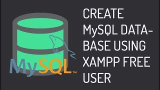Create MySQL Database Using XAMPP Android