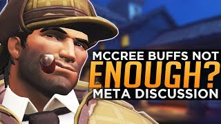 Overwatch: McCree BUFFS Not Enough? - Meta Discussion