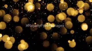 #Christmas Golden sparkle particles overlay | golden bokeh particles video | sparkle overlay effects