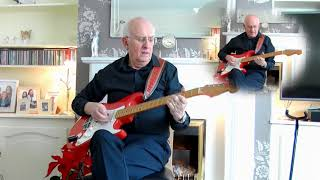 Lucille - The Everly Brothers - instrumental cover by Dave Monk